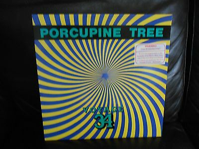 "Porcupine Tree Voyage 34 ORIGINAL 1992  12"" with rare promo poster Steven Wilson"