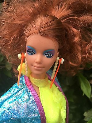 Vintage 1980s Barbie & The Rockers Diva Doll Original Clothes Red Head Hair VGC