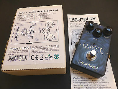 Neunaber Mono Wet Reverb V4 Effects Pedal
