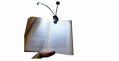 Reading Light for Bed Portable Clip On lamp Book Desk Adjustable Brightness New
