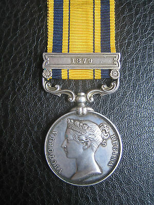 Scarce South Africa 1879 Zulu 1St Boer War Medal Killed In Action