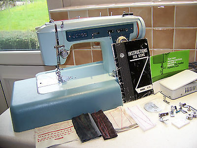 Solid Jones Brother 778  Semi Industrial Sewing Machine,manual,expert Serviced