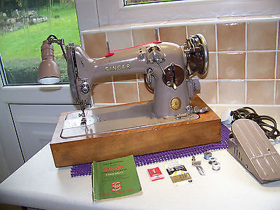 Rare Model West German Singer 216G Semi Industrial Z/zag Sewing Machine