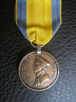 Brunswick Waterloo Medal 1815 To 1St Jaeger Battalion