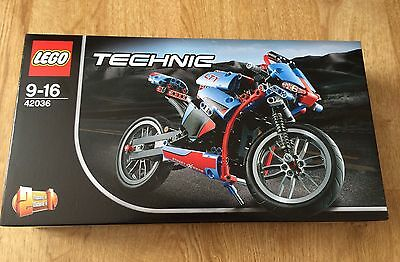 LEGO Technic Street Motorcycle 42036 BRAND NEW Sealed FREE UK Delivery