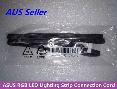 Asus RGB LED Lighting Strip Connection Cable Cord 14011-01450300 4Pin Flat Lead
