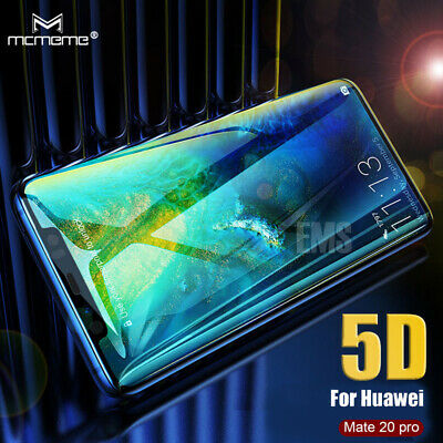 5D Full Coverage Tempered Glass Screen Protector For Huawei Mate 9 10 Pro 20 Pro