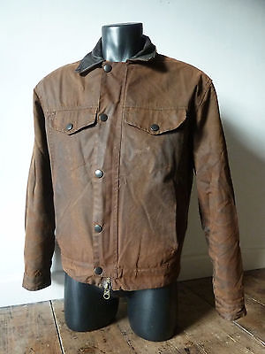 """Superb Barbour   """" Drover """" Wax Military Bond  Jacket - Small - £215 New - Vgc"""