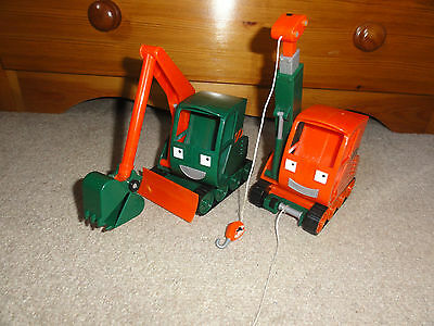 Bob the Builder Gripper and Grabber Friction vehicles