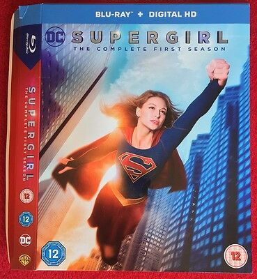 DC Comics Supergirl Season 1 Slipcase Only (For UK Bluray Release)