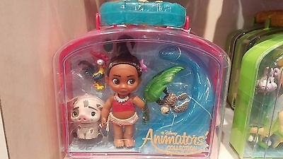 Disney Animators' Collection Moanal Mini Doll Play Set NEW in Case With Tags