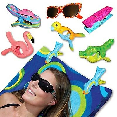 Boca Clips for Beach Towels (4)