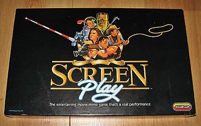 Screen Play Board Game Screenplay No instructions ~ May be missing cards