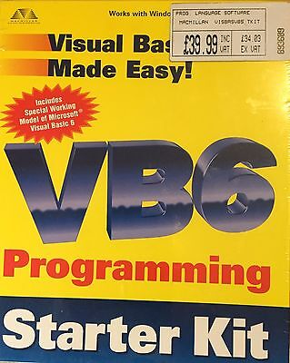 VB6 Programming Starter Kit
