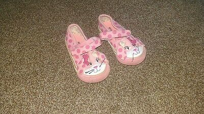 Baby Girl Pink Shoes, Rabbit faces, Next, size 4