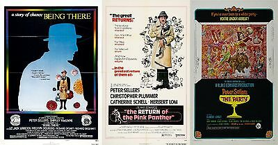 Peter Sellers - A4 Laminated Mini Movie Posters - Buy 4 Get 1 FREE!