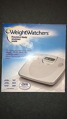 Weight Watchers Precision Body Analyser Scales - Silver