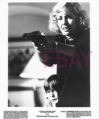 10 x 8 Black and White Original Movie Photo Print: CHILD'S PLAY Catherine Hicks