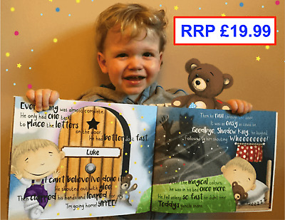 Personalised Childrens Story Book, Christening gift, Boys & Girls
