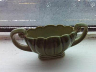wade traditional posy green large bowl