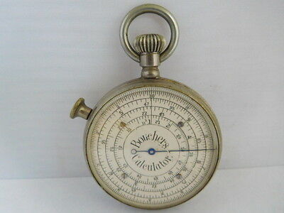 Antique Bouechers Calculator (Stanley Of London)