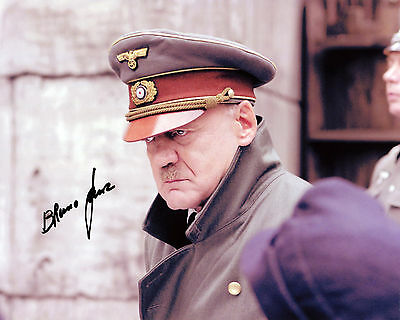 Bruno Ganz - Adolf Hitler - Downfall - Signed Autograph REPRINT