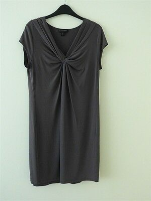 White Company shift dress, grey/taupe, Size 12