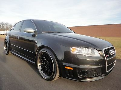 2008 Audi RS4  2008 AUDI RS4 RS 4 CLEAN CARFAX WE FINANCE MAKE OFFER LOW MILES LOADED NAV