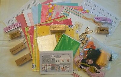 Crafting, Cardmaking and Stamping Joblot