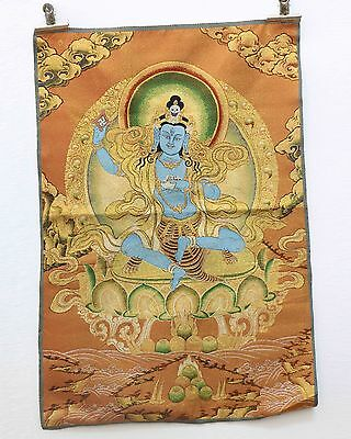 Tibet Collectable Silk Hand Painted Immortal Thangka #158