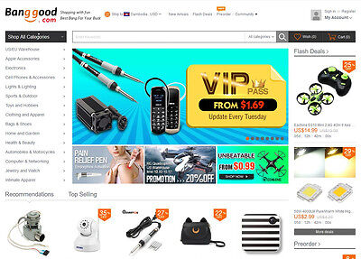 Online Mall Website - 150,000 Products - Home Business - Fully Built - eCommerce