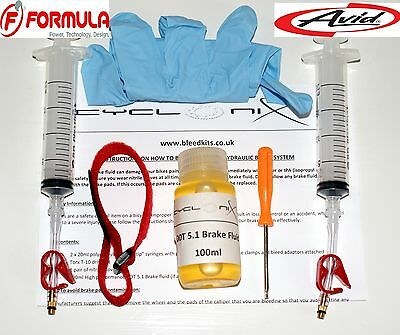 SRAM Brake Bleed Kit - For Bleeding All avid Juicy & Elxir + Code 5,R, XO,XX