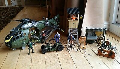 Lanard Action corps + helicopter