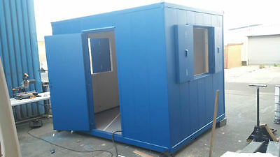 10 ft x 8 FT anti vandal insulated steel site office