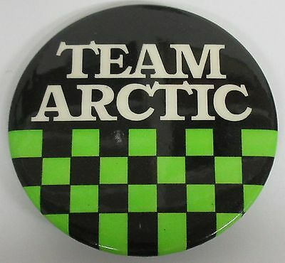 Team Arctic Snowmobile Pinback Button