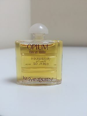 Yves Saint Laurent Ysl Opium Eau De Toilette Perfume 7.5Ml Miniature Mini Rare
