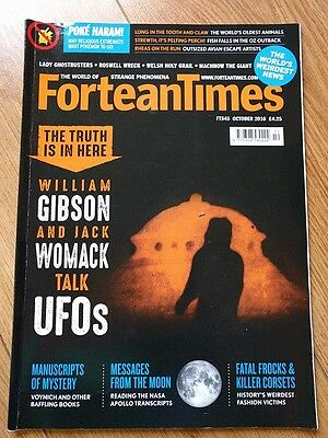 FORTEAN TIMES MAGAZINE - ISSUE No FT345 - October 2016