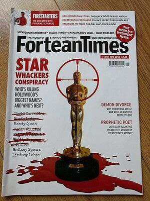 FORTEAN TIMES MAGAZINE - ISSUE No FT340 - May 2016