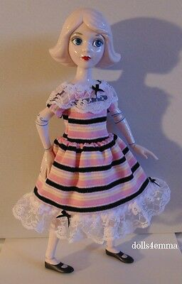 "DRESS handmade clothes for 14"" China Doll Wizard of Oz Mattel Disney NO DOLL"