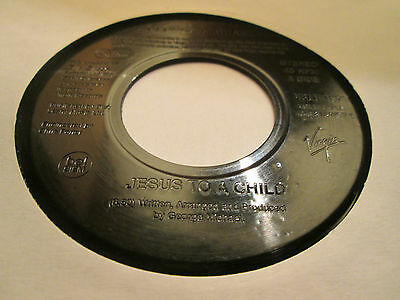 GEORGE MICHAEL - JESUS TO A CHILD 1996 Jukebox Single VSLH 1571