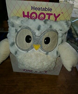 Heatable Hooty Still Boxed Unwanted Gift