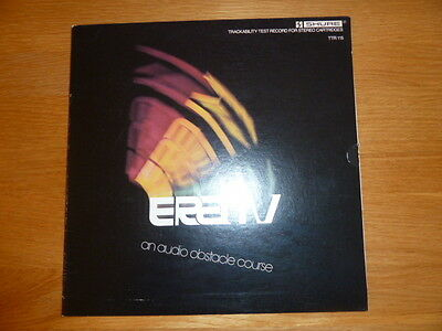 Collectible Vinyl LP - Shure Trackability Test Record