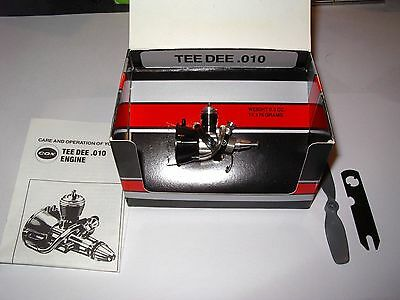 Cox .010 Gas Engine  New in Box