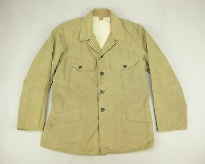 WWII Period Imperial Japanese Army Khaki Summer Tropical Tunic Jacket Coat Japan
