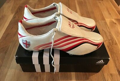 adidas f50.6 Tunit ENGLAND RARE football boots UK9 NEW not predator mania pulse