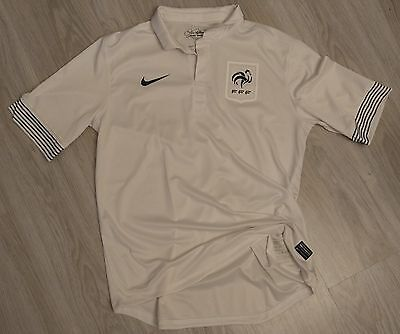 Maillot France 2012/2013 Away Taille L Player Issue Pro Match Football
