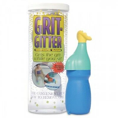 Grit Gitter Pool and Spa Hot Tub Cleaner Dirt Remover vacuum vac