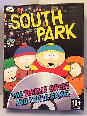 """South Park - """" The Totally Sweet """" DVD Trivia Game"""