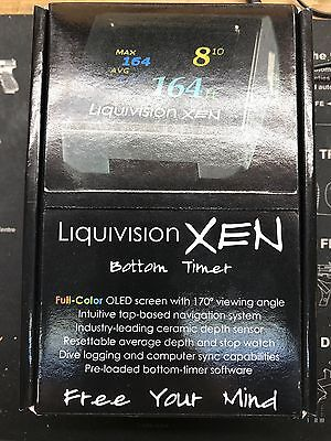 Liquivision Xen Bottom Timer Scuba With Charger Kit.