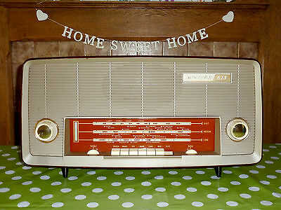 Vintage 1960 Murphy A674 Quality VHF Bakelite Valve Radio, Fully Working FAB